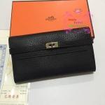 Hermes kelly wallet สีดำ Hiend
