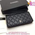 Chanel Wallet สีดำ งานTOP MIRRORเกาหลีระดับHiend