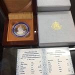 เหรียญรางวัลนักวิทยาศาสตร์ดิน เพื่อมนุษยธรรม 2555 เนื้อเงินแท้ พร้อมใบเซอร์ สวยมากๆ มีเหรียญเดียวค่ะ &#x260E️ 0615858999