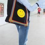 กระเป๋า Anya Hindmarch Smiley Tote bag งานTOP MIRRORเกาหลี