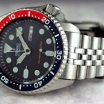 นาฬิกา Seiko Automatic Pepsi Diver Watch 200m SKX009K Jubilee Strap