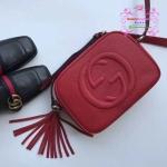 Gucci soho bag สีแดง Hiend 1:1