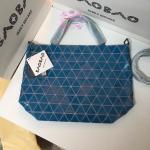 Bao Bao Issey Miyake 'CRYSTAL' Tote Bag สีน้ำเงิน งานHiend Original