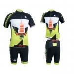 **สินค้าพรีออเดอร์**ชุดจักรยาน Sportful สีเหลือง (เสื้อปั่นจักรยาน+กางเกงปั่นจักรยาน)