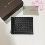 Bottega clip Wallet สีดำ งานHiend
