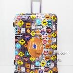 กระเป๋าเดินทางแบรนด์ Hipolo ลายสวย ขนาด 28 นิ้ว