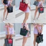 กระเป๋า Fashion นำเข้าเกาหลี แบบเหมือนของ Mulburry