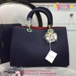 Dior Rissimo Bag สีน้ำเงินกรม งานTOP MIRRORเกาหลีระดับHiend Original