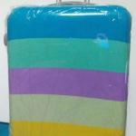 กระเป๋าเดินทาง ขนาด 28 นิ้ว ลายไอติมสีฟ้า