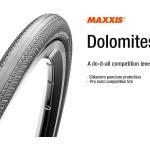 ยางเสือหมอบ MAXXIS: TIRE DOLOMITES CLINCHER 700x23C