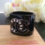 Chanel Bracelet สีดำ งานHiend Original