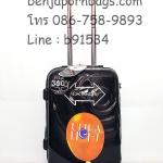 กระเป๋าเดินทาง PC Hipolo 1174 สีดำ 20 นิ้ว