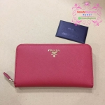 Prada Wallet สีแดง งานHiend