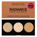 Makeup Revolution (MUR) - Highlighters Palette Radiance
