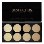 Makeup Revolution (MUR) - Ultra Cover and Conceal Palette-Light-Medium