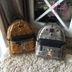 MCM backpack สีทอง/สีเงิน งานHiend 1:1