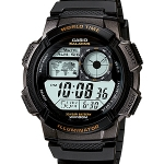 Casio Standard World Time Map รุ่น AE-1000W-1AVDF