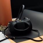 กระเป๋า Fashion งานเกาหลี สีดำ งานสวยเนี๊ยบ