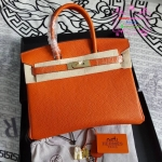 HERMES BIRKIN 30 สีส้ม งานHiend