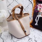 กระเป๋า Fashion นำเข้าเกาหลี แบบเหมือนของ Hermes picotin 22