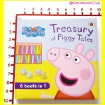 Peppa Pig : Treasury of Piggy Tales (6 books in 1)