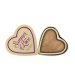 Makeup Revolution (MUR) - I Heart Makeup Blushing Hearts-Summer of Love Bronzer