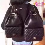 Chanel Backpack in Seoul สีดำ งานHiend Original
