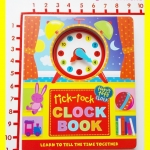 CLOCK BOOK tick-tock