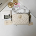 Gucci GG Marmont mini shoulder bag สีขาว งานHiend Original