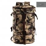 TR03 กระเป๋าเป้เดินทาง ผู้ชาย ลายพรางทหาร MO&Y