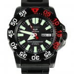นาฬิกา Seiko Mini Monster Super Black snzf53