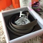 Hermes belt สีเทา งานHiend Original