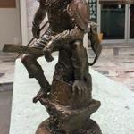 """&#x2714️หนุมานมหาเดช ขนาดบูชา สวยมากๆ &#x2714️หลวงพ่อสมบูรณ์ รตนญาโณ วัดหงส์รัตนารามฯ &#x2714️ปั้นแบบโดยอาจารย์รัชต์ อาจารย์ผู้ออกแบบงานศิลป์ได้อย่างวิจิตรบรรจง &#x2714️ขนาดสูงถึงปลายธง 14.7"""" ถึงหัว 13.7"""" จํานวนการสร้าง 279 องค์ &#x260E️มี 1 องค"""
