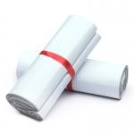 ถุงไปรษณีย์พลาสติก EMS กันน้ำ สีขาว 38x52 cm จำนวน 50 ใบ