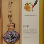 Eyun aroma Car Air Ginger&Bergamot 15ml.Price ราคา 200 บาท.