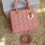 Dior Lady สีชมพูนม