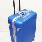 กระเป๋าเดินทาง HIPOLO สีฟ้า ขอบอลูมิเนียม ขนาด 28 นิ้ว