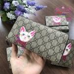 Gucci wallet ลายแมว งาน Hiend Original
