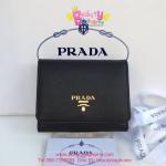 Prada Small Wallet สีดำ