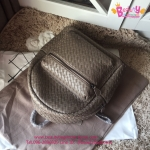 Bottega Backpack สีเทา งานHiend Original