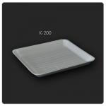 K-200 ถาดโฟมสี่เหลี่ยมใหญ่