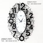 นาฬิกาติดผนัง Modern ดีไซน์รูปรังนก สวยๆเก๋ๆ