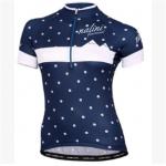 **สินค้าพรีออเดอร์**เสื้อปั่นจักรยานผู้หญิงสีน้ำเงิน Size S-3XL