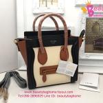 Celine Luggage nano Tricolor งานHiend