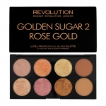 Makeup Revolution (MUR) - Golden Sugar 2 Rose Gold Limited Edition