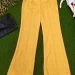 Vintage pant : กางเกงวินเทจ งานเก่า old stock. แพทเทิร์นขาม้า 8 ส่วน (ขาลอยเต่อๆ)