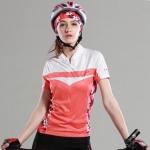 **พรีออเดอร์** เสื้อปั่นจักรยานผู้หญิง (เสื้อแขนสั้นขี่จักรยาน เนื้อผ้าดี แบบสวย)