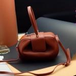 กระเป๋า Fashion งานเกาหลี สีน้ำตาล งานสวยเนี๊ยบ