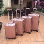 กระเป๋าเดินทางล้อลาก Rimowa สีชมพู งานHiend