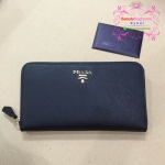 Prada Wallet สีดำ งานHiend